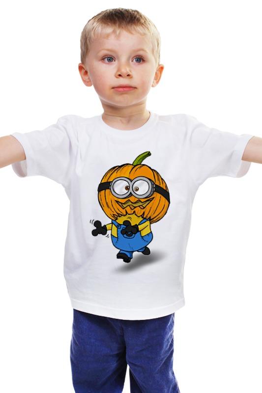 Детская футболка классическая унисекс Printio Хэллминьон детская футболка классическая унисекс printio мачете