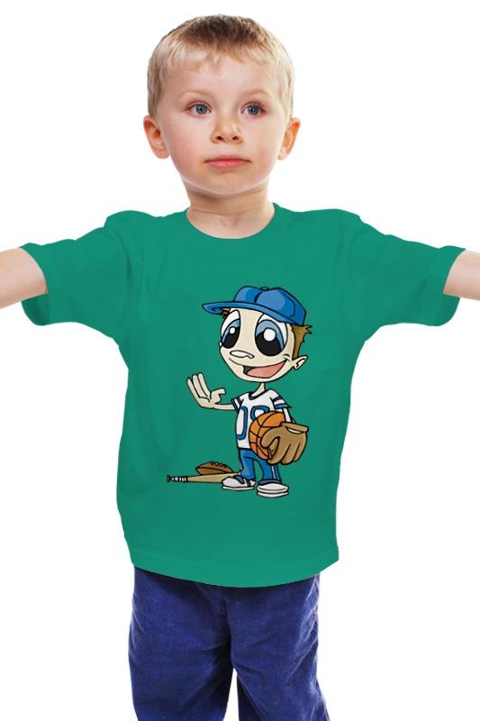 Детская футболка классическая унисекс Printio Регби костюм регби