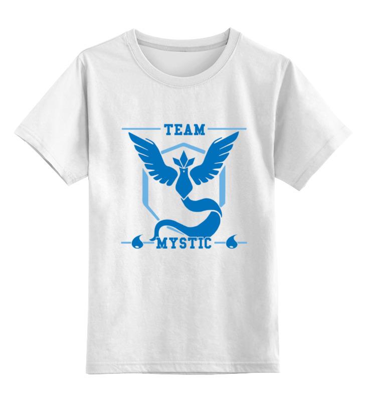 Детская футболка классическая унисекс Printio Команда мистик (покемон гоу) аксессуар чехол накладка htc desire 320 activ silicone red mat 46652