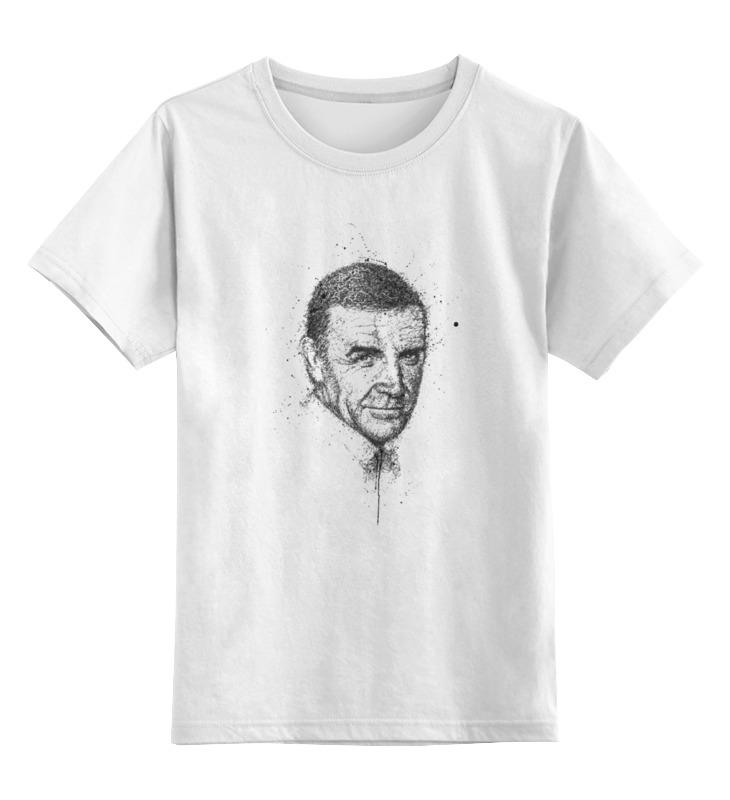 Детская футболка классическая унисекс Printio Шон коннери шон пол sean paul dutty rock