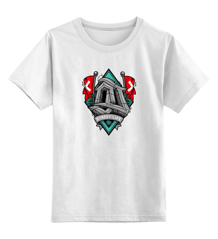 Детская футболка классическая унисекс Printio Street life футболка классическая printio street life