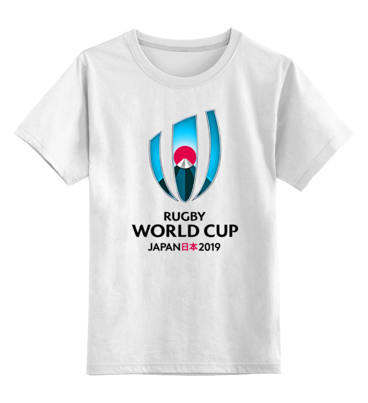 Детская футболка классическая унисекс Printio Rugby world cup 2019 australia france rugby league world cup 2017