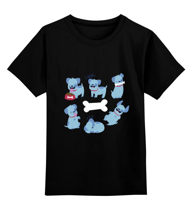 Детская футболка классическая унисекс Printio Смешные собаки детская футболка классическая унисекс printio мачете