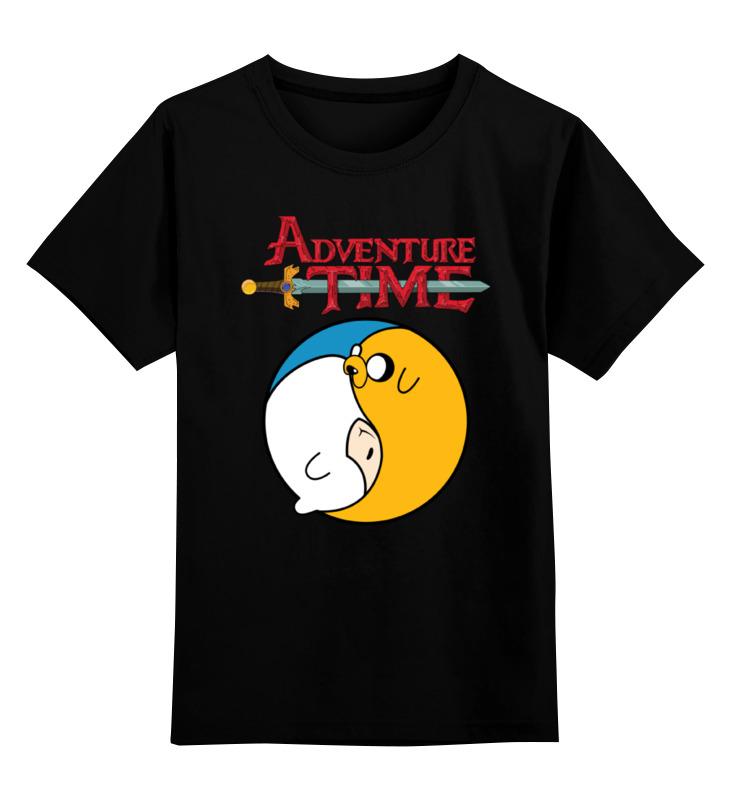 Детская футболка классическая унисекс Printio Adventure time / время приключений детская футболка классическая унисекс printio детская время приключений