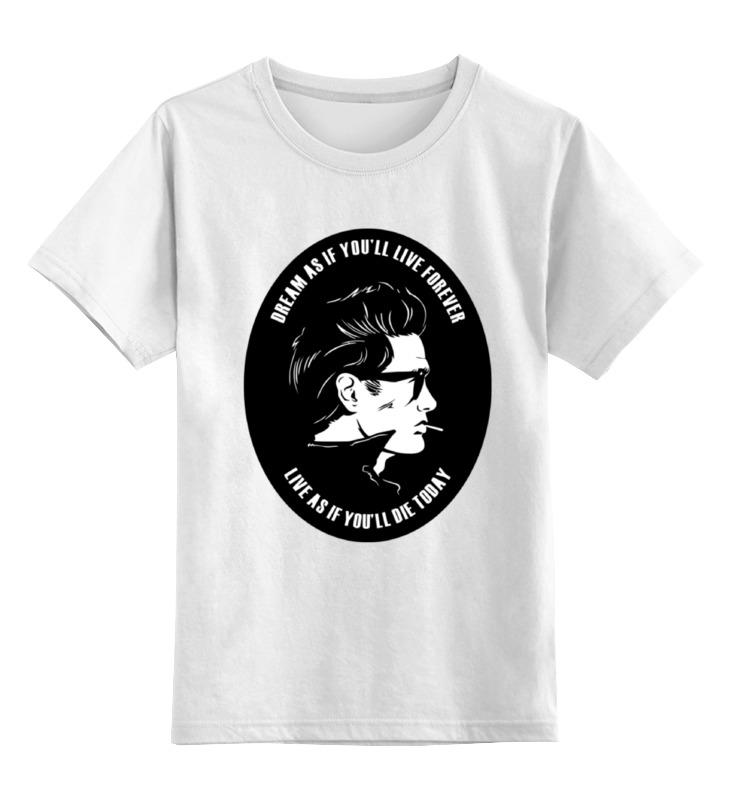 Детская футболка классическая унисекс Printio Джеймс дин (james dean) этта джеймс etta james hickory dickory dock