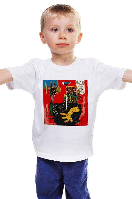 Детская футболка классическая унисекс Printio Basquiat детская футболка классическая унисекс printio мачете