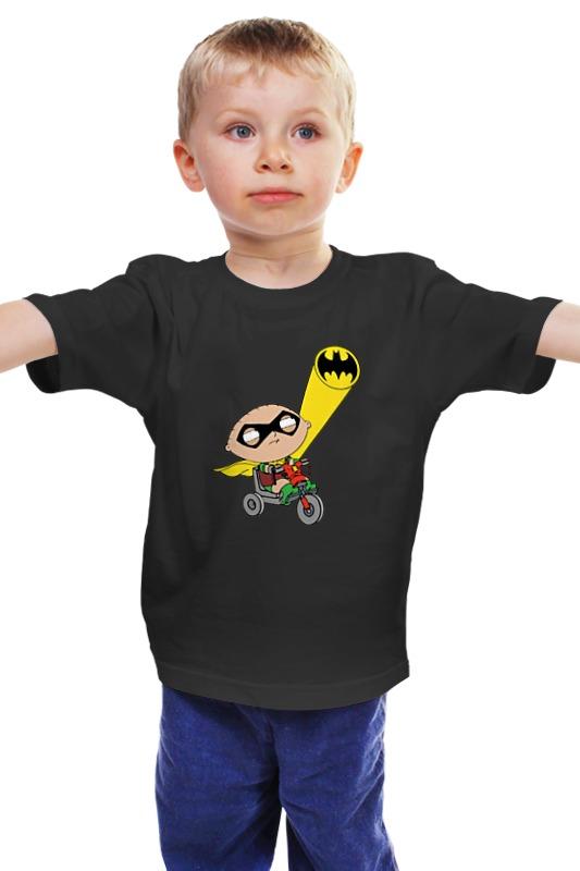 Детская футболка классическая унисекс Printio Бэтмен и робин (гриффины) детская футболка классическая унисекс printio бэтмен и робин