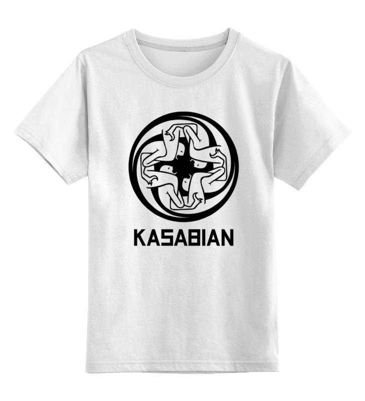 Детская футболка классическая унисекс Printio Kasabian детская футболка классическая унисекс printio панк рок кафе