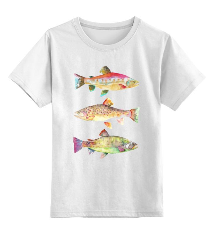 Детская футболка классическая унисекс Printio Рыбки футболка классическая printio рыбки