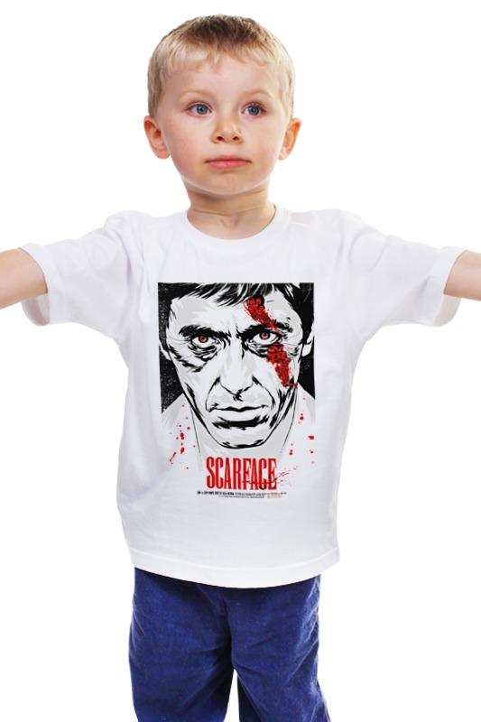 Детская футболка классическая унисекс Printio Лицо со шрамом (scarface) лицо со шрамом blu ray