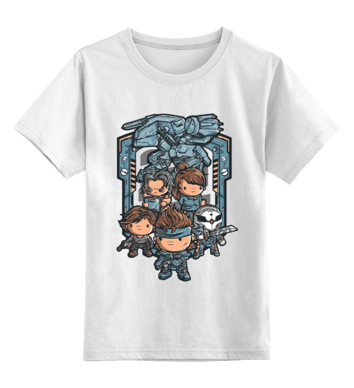 Детская футболка классическая унисекс Printio Метал гир детская футболка классическая унисекс printio фиксед гир светлая