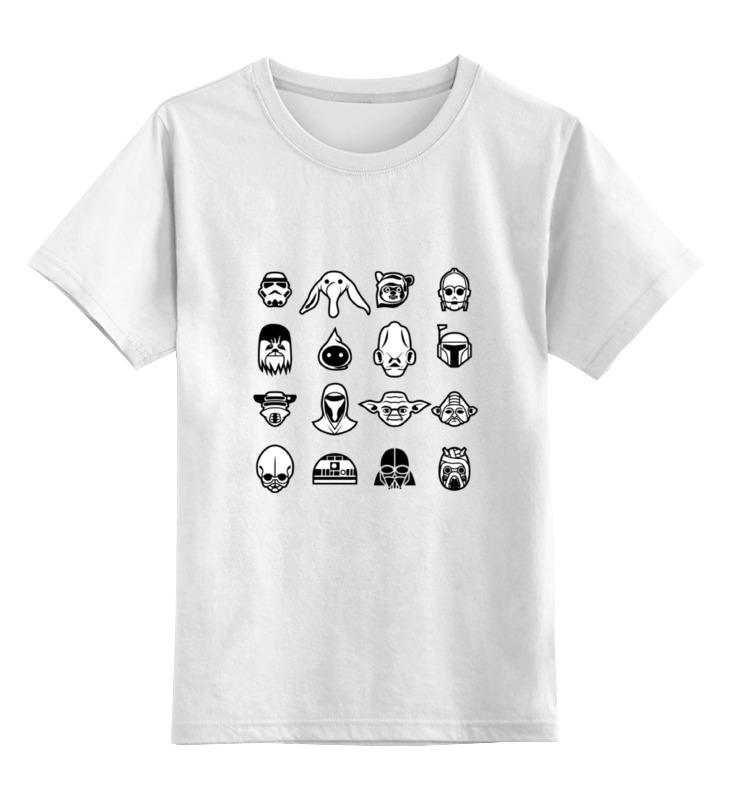 Детская футболка классическая унисекс Printio Звёздные войны (star wars) футболка детская dc star lemon chrome
