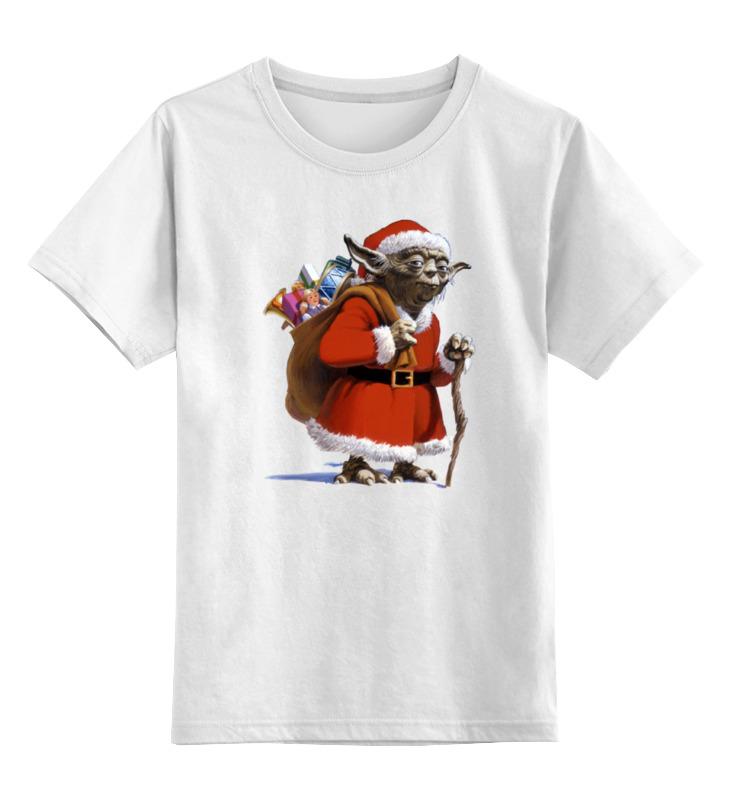 Printio Санта йода детская футболка классическая унисекс printio санта клаус