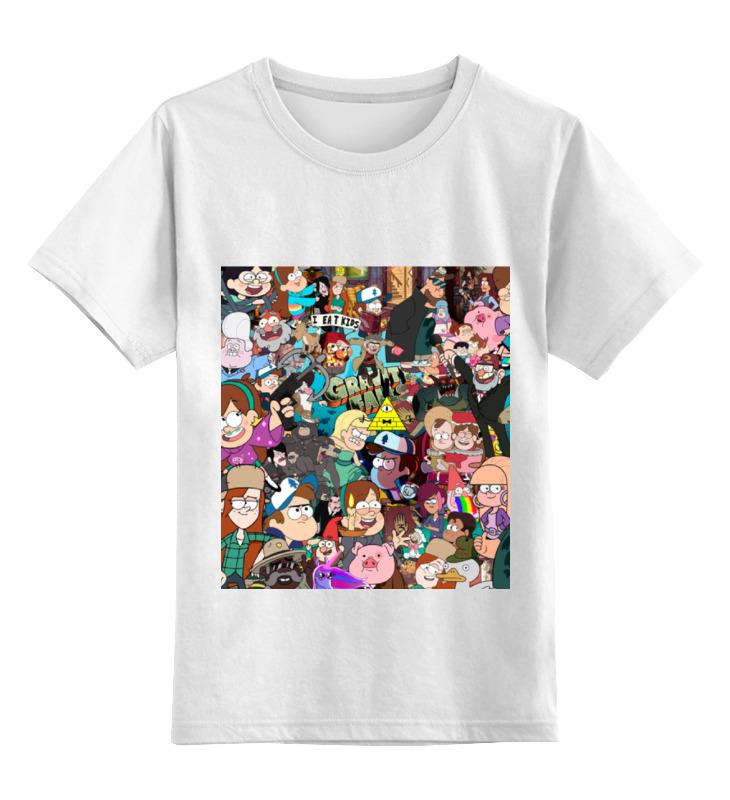 Детская футболка классическая унисекс Printio Gravity falls футболка классическая printio gravity falls keep