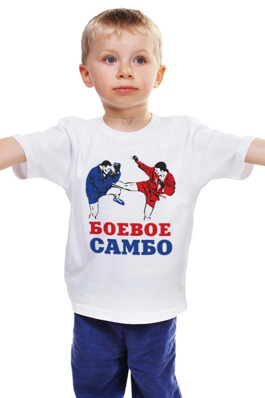 Детская футболка классическая унисекс Printio Боевое самбо билет самбо пушница 2011