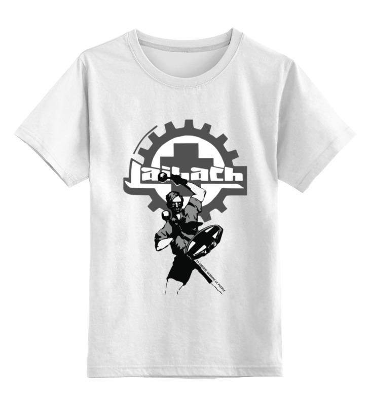 Детская футболка классическая унисекс Printio Laibach / drummer boy drummer day 2018 11 11t13 30
