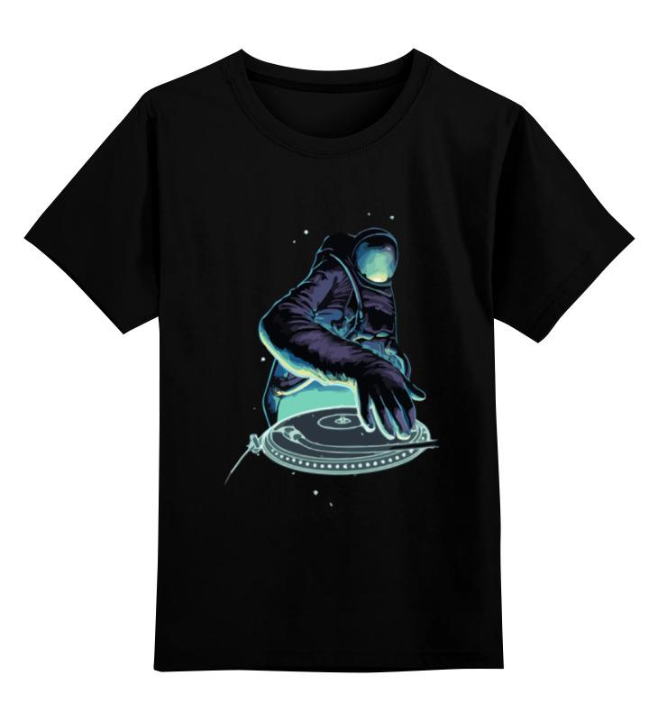 Детская футболка классическая унисекс Printio Космо диджей футболка классическая printio космо диджей