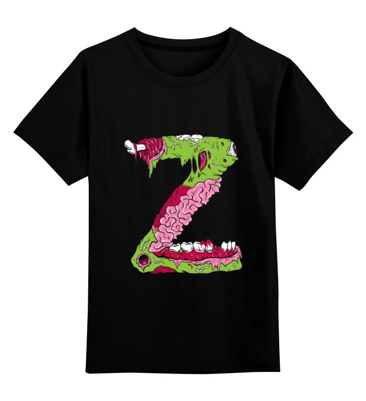Детская футболка классическая унисекс Printio Z zombie детская футболка классическая унисекс printio zombie music
