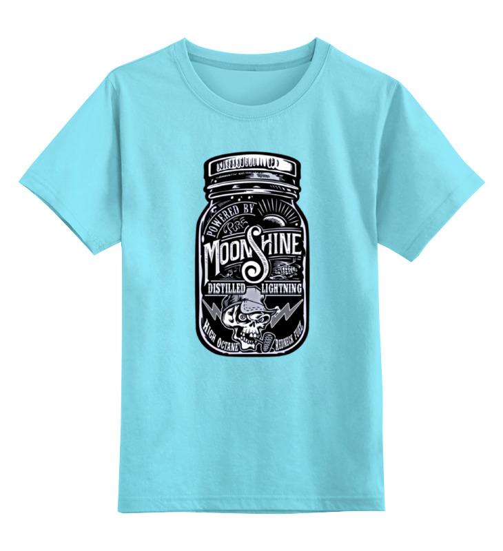 Детская футболка классическая унисекс Printio Moonshine