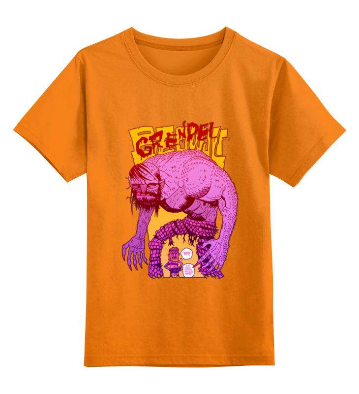 Детская футболка классическая унисекс Printio Grendel