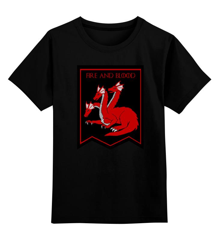 Детская футболка классическая унисекс Printio Дом таргариенов детская футболка классическая унисекс printio живой летающий дом