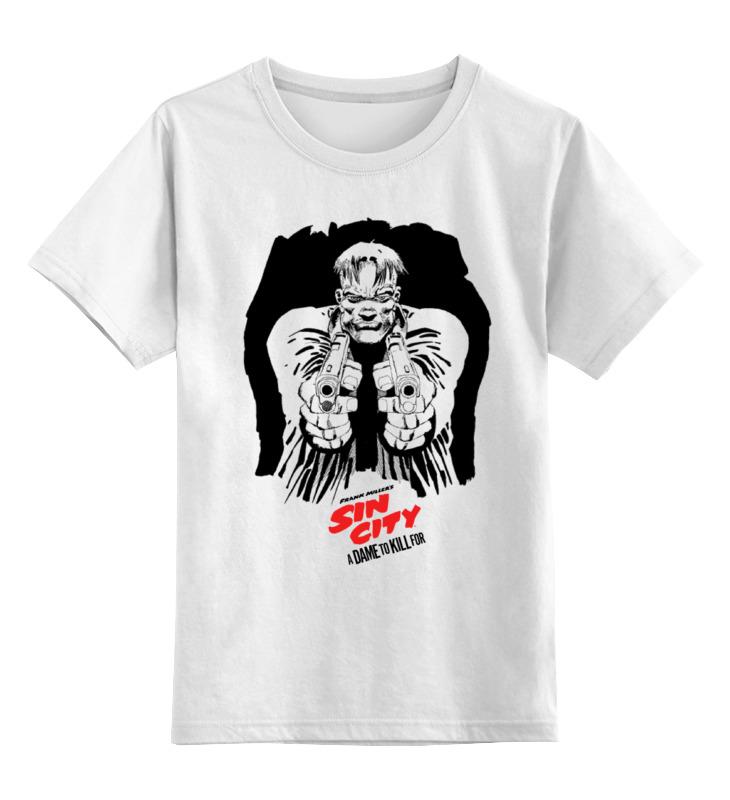 Детская футболка классическая унисекс Printio Sin city / город грехов rapoo