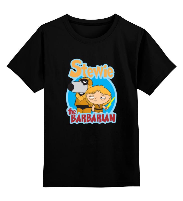 Детская футболка классическая унисекс Printio Стьюи (гриффины) griffin чехол книжка griffin универсальный 7 кожзам ткань красно коричневая