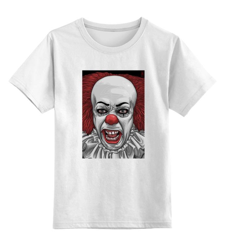Детская футболка классическая унисекс Printio Клоун пеннивайз