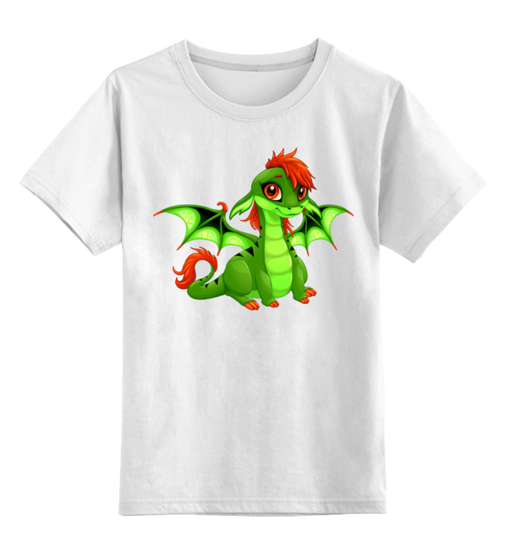 Детская футболка классическая унисекс Printio Дракоша printio детская футболка классическая унисекс