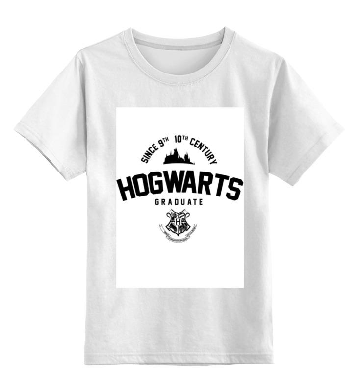 Детская футболка классическая унисекс Printio Hogwarts graduate