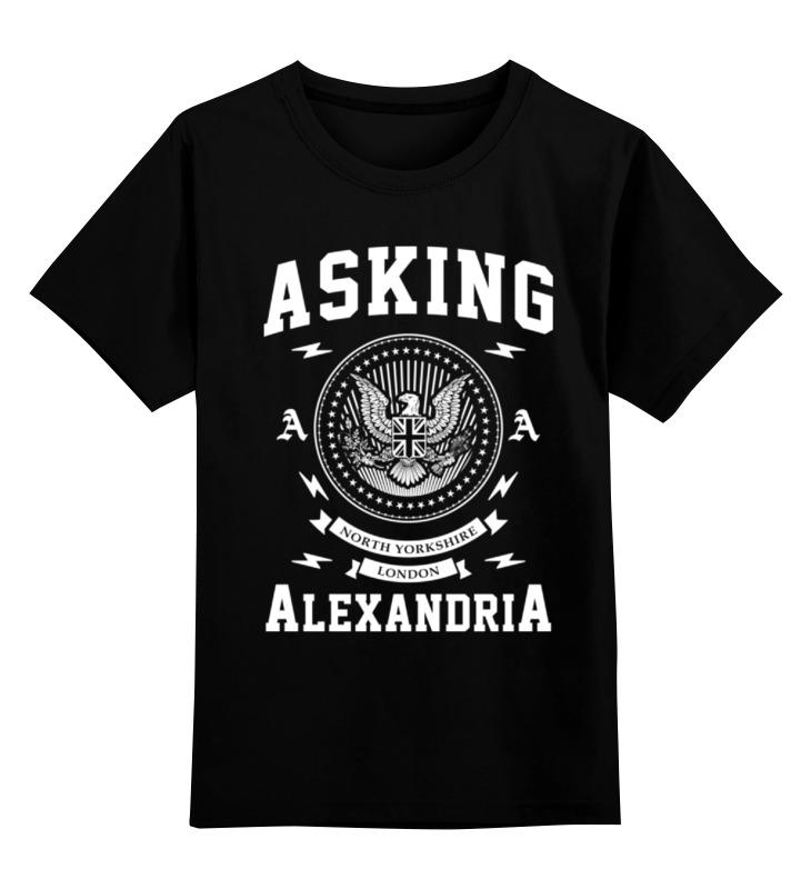 Детская футболка классическая унисекс Printio Asking alexandria футболка рингер printio asking alexandria