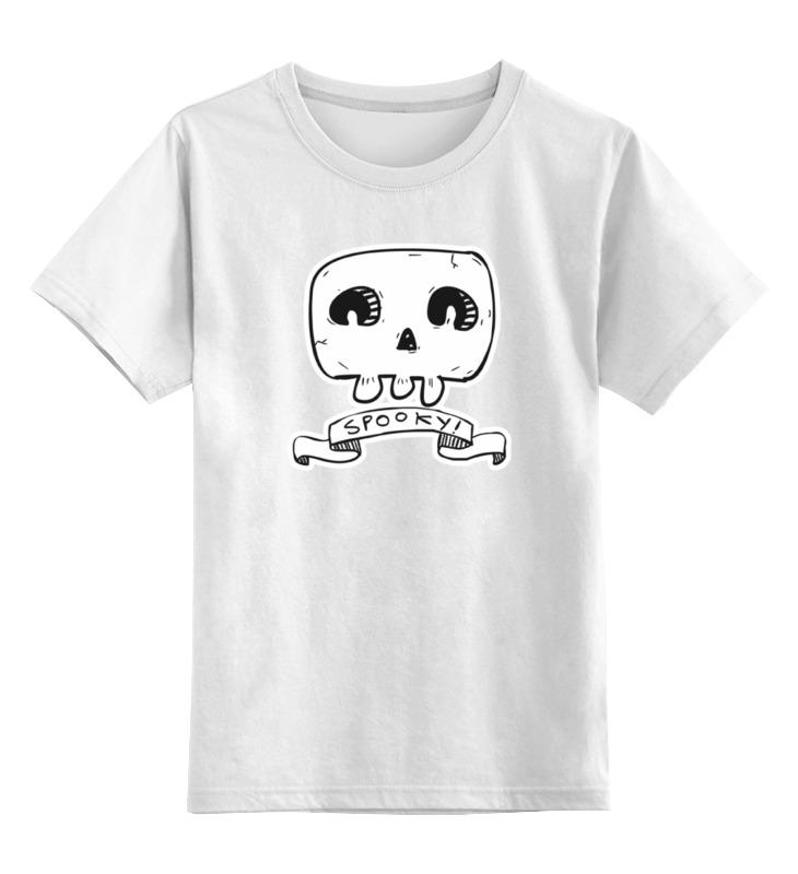 Детская футболка классическая унисекс Printio Череп sbart upf50 rashguard 2 bodyboard 1006