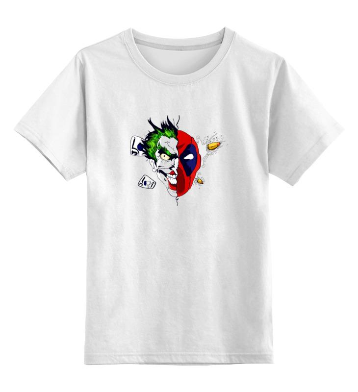 Детская футболка классическая унисекс Printio Joker x deadpool майка классическая printio deadpool joker