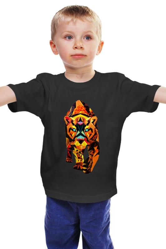 Детская футболка классическая унисекс Printio Лев детская футболка классическая унисекс printio лев