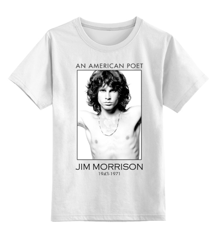 Детская футболка классическая унисекс Printio Джим моррисон джеймс моррисон james morrison the awakening