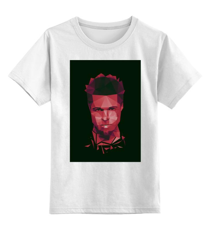 Детская футболка классическая унисекс Printio Тайлер дёрден джемпер finn flare finn flare mp002xw13nip
