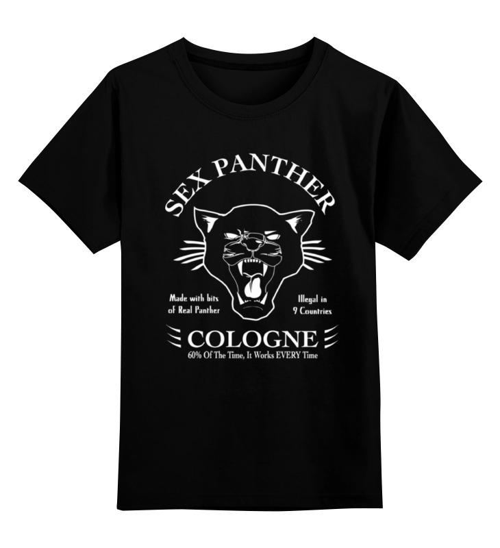 Детская футболка классическая унисекс Printio Sex panther (секс пантера) drilldo ultimate sex tool комплект для секс дрели