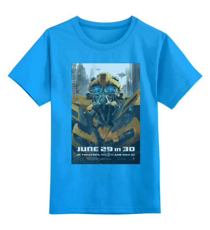 Детская футболка классическая унисекс Printio Transformers / трансформеры