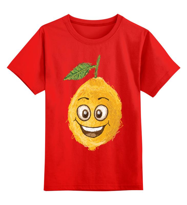 Детская футболка классическая унисекс Printio Лимончик соковыжималка gjo casa лимончик цвет желтый прозрачный