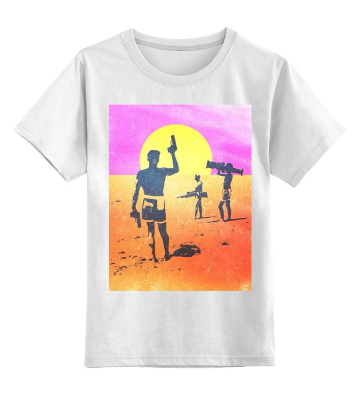 Детская футболка классическая унисекс Printio Отдыхающие с оружием детская футболка классическая унисекс printio воин с оружием