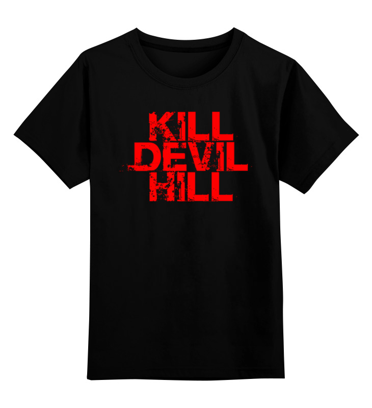 Детская футболка классическая унисекс Printio Убить дьявола