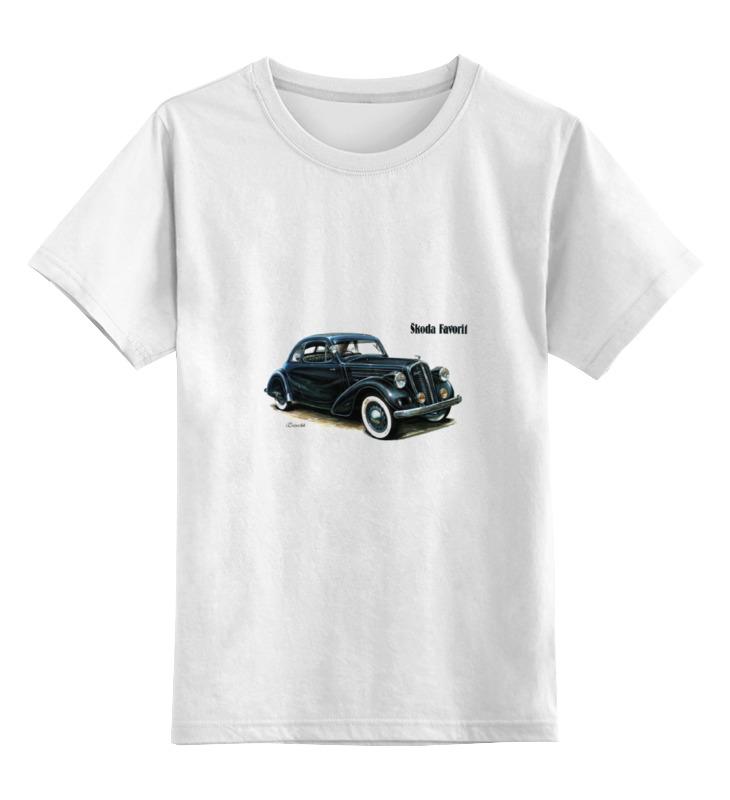Детская футболка классическая унисекс Printio Ретроавтомобили 5 цена и фото