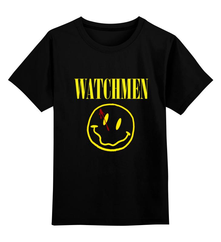 Детская футболка классическая унисекс Printio Watchmen x nirvana детская футболка классическая унисекс printio nirvana