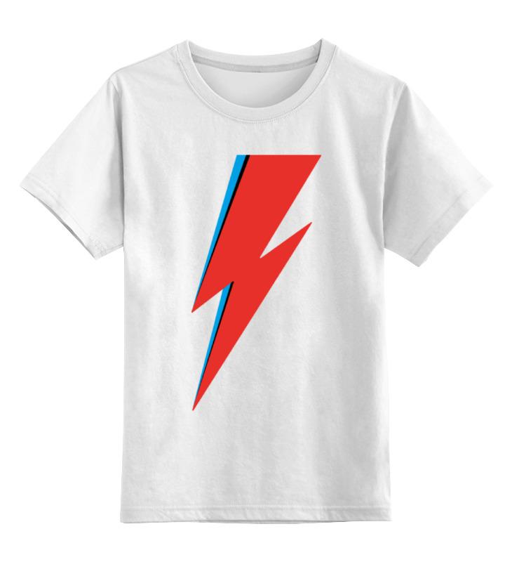 Детская футболка классическая унисекс Printio Молния (дэвид боуи) детская футболка классическая унисекс printio художник