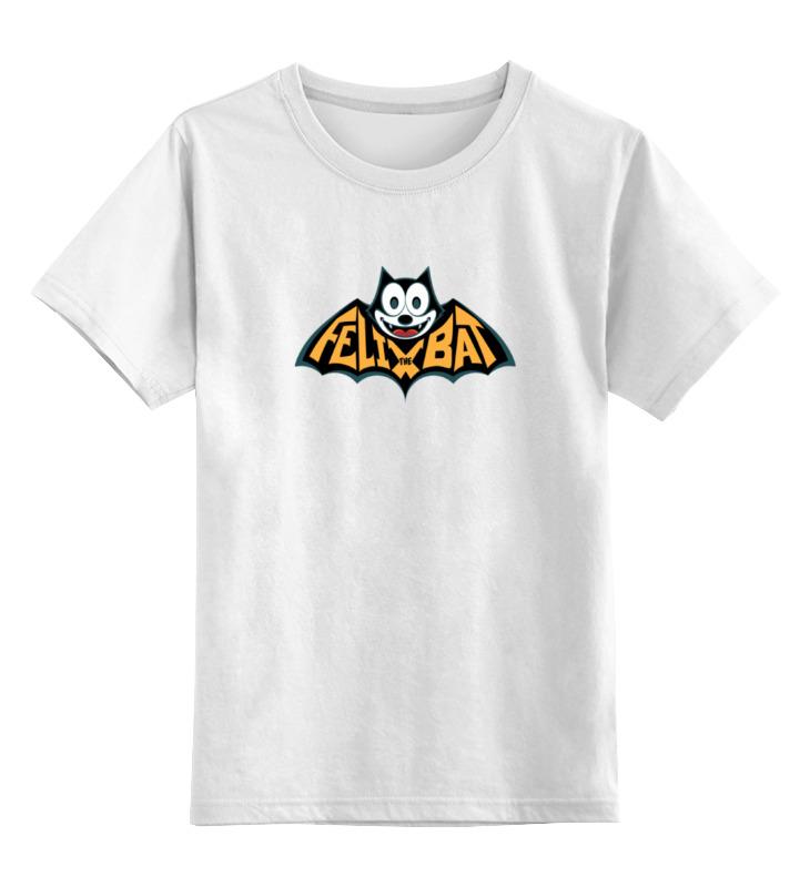 Детская футболка классическая унисекс Printio Кот феликс