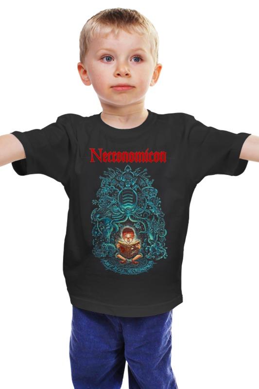 Детская футболка классическая унисекс Printio Necronomicon детская футболка классическая унисекс printio мачете