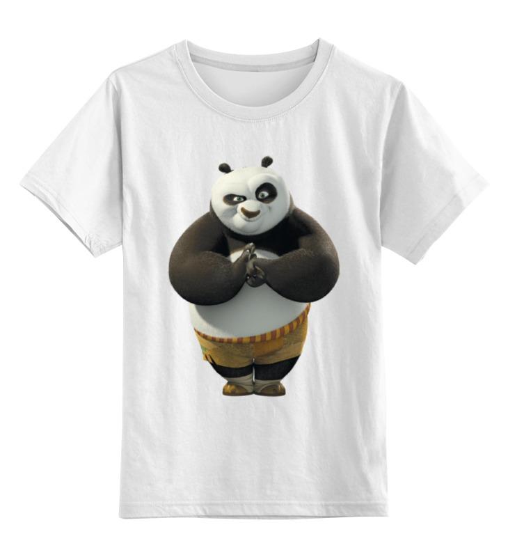 Детская футболка классическая унисекс Printio Kung fu panda футболка wearcraft premium slim fit printio kung fu panda