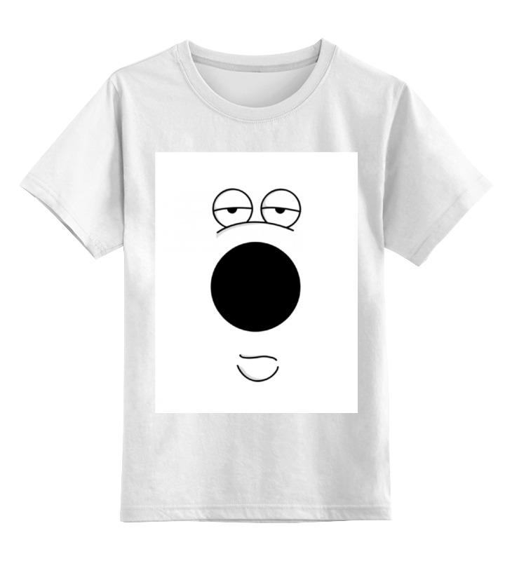 Детская футболка классическая унисекс Printio Брайан гриффин футболка классическая printio брайан гриффин