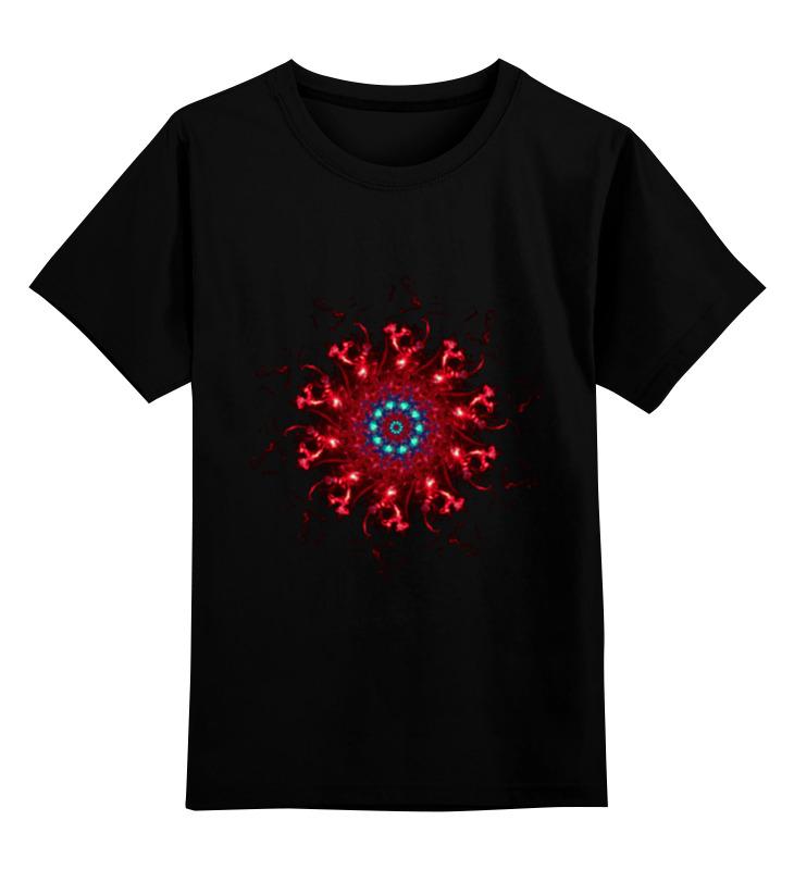 Детская футболка классическая унисекс Printio Неопознанный 2