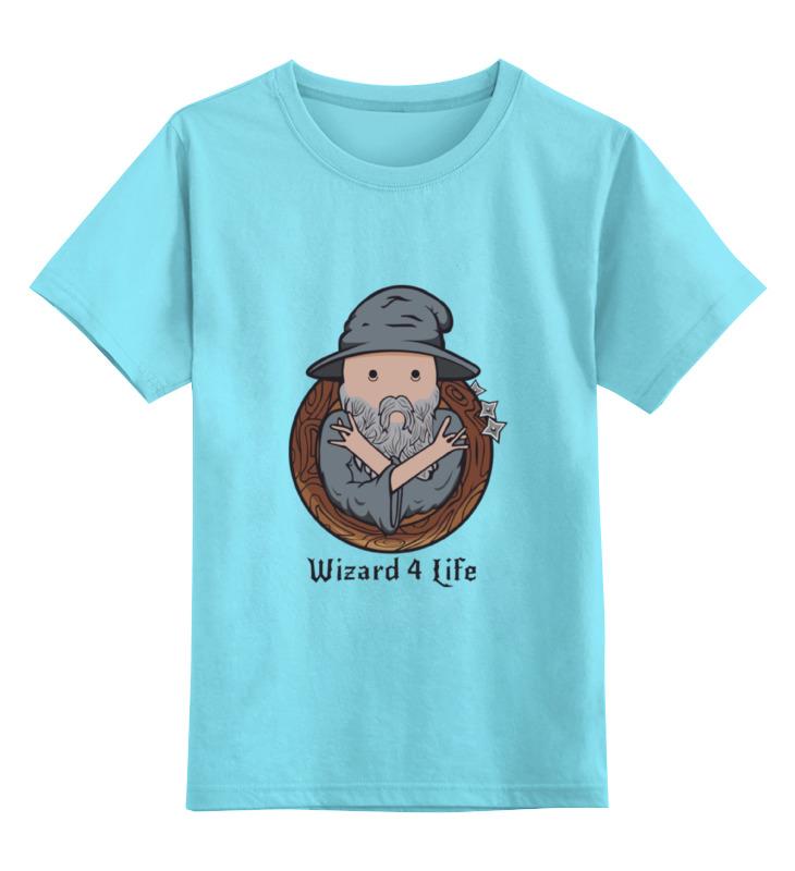 Детская футболка классическая унисекс Printio Wizard for life футболка quelle colors for life 482489